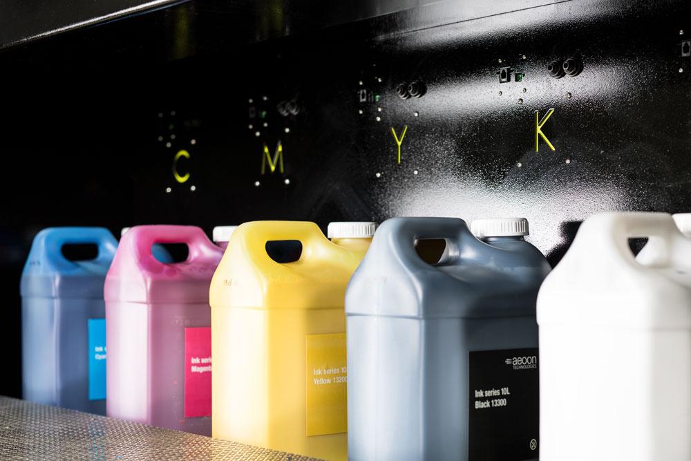 Kyo Serie - Lagerfläche für Tinten - aeoon technologies