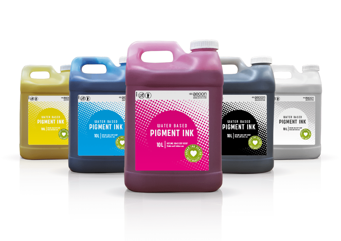 Waterbased Ink - aeoon technologies