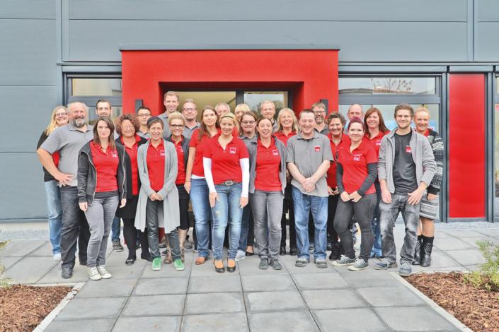Team unseres neuen Partners IVM SignTex in Emsdetten