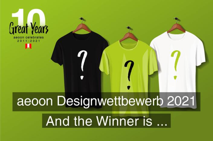 Die Gewinner des Designwettbewerb 2021- aeoon technologies