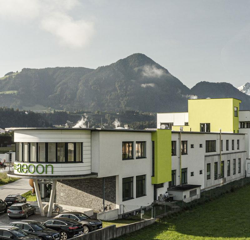aeoon technologies - Headquarters in Kramsach