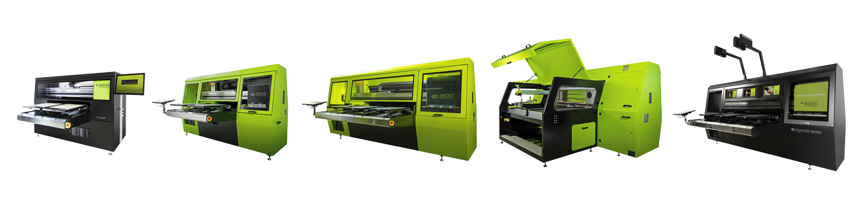 aeoon DTG Printer - Product Range